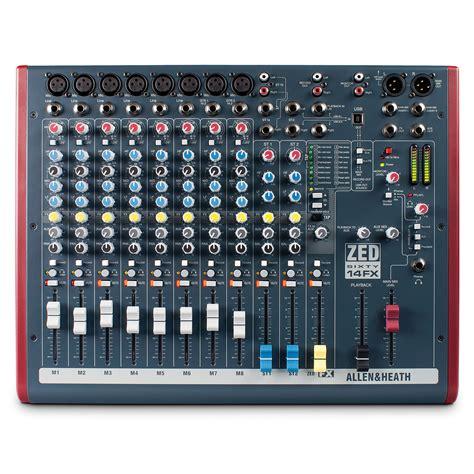 Mixer Allen And Heath allen heath zed60 14fx 171 mixer