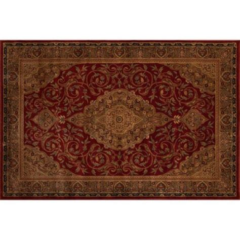 Better Homes And Gardens Gina Area Rug Garnet Red Area Rugs Walmart