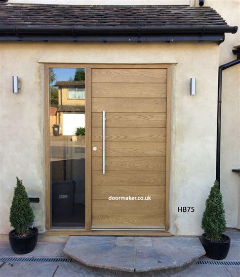 Modern Oak Front Doors Contemporary Front Doors Oak Iroko And Other Woods Bespoke Doors
