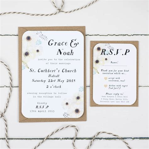Wedding Invitations Sles by Rsvp Wedding Invitation Sles Style By Modernstork