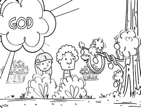 the most elegant adam and eve coloring pages to encourage