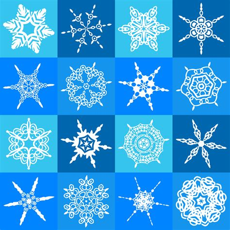 snowflake motif pattern snowflake pattern free stock photo public domain pictures