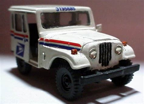 Jeep Post U S Postal Service Delivery Jeep