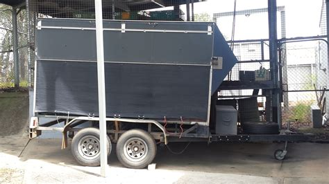 blue trailer original trailer trucks trailers truck and trailer for sale