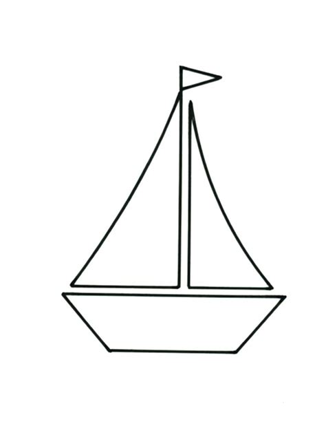 simple boat template it s smooth sailing with this pretty cushion design