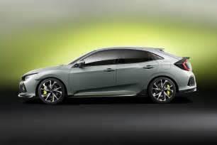 Honda Civic News New 2017 Honda Civic Prototype Unveiled In Geneva By Car