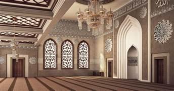 Autodesk Interior Design El Rayan Mosque Interior Design On Behance