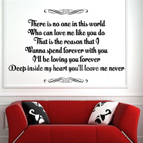 Can You Return Gift Cards To Forever 21 - loving you forever deep inside my heart wall quotes decals wall decals