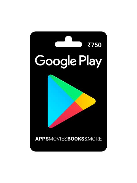 Google Play Online Gift Card - buy google play gift card rs 750 online on snapdeal