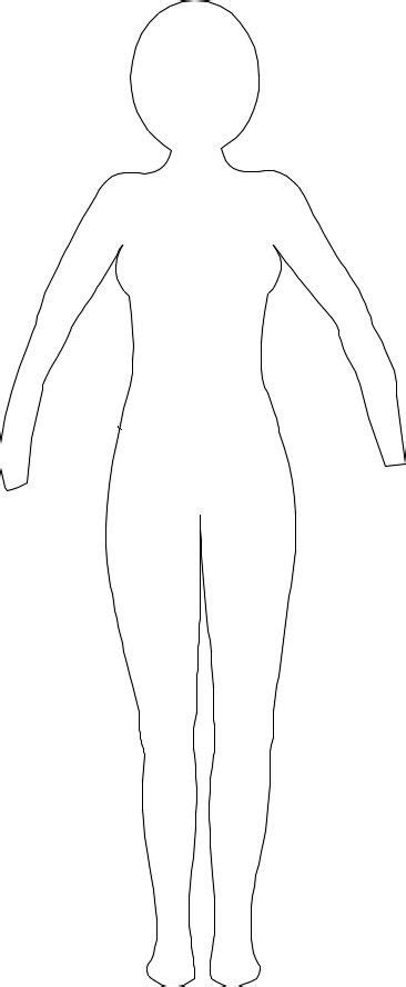 dress a doll template paper doll template doliquid