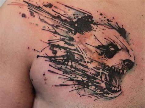 татуировка оскал волка тигра медведя льва значение и фото