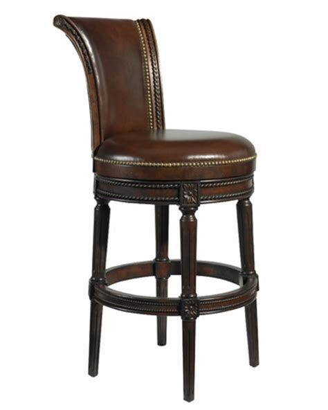 decorative bar stools brown leather swivel bar stool collection w decorative