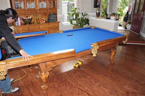 seattle pool table transplanted to the o c pool table