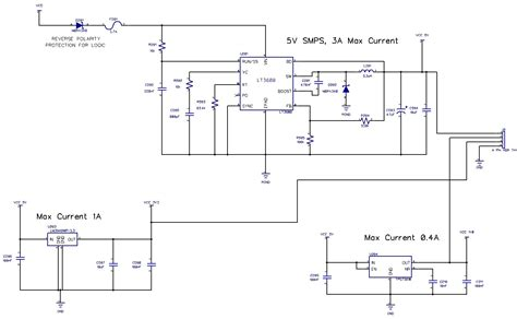 pcb layout guidelines for smps switch mode power supply smps regulator blows up could