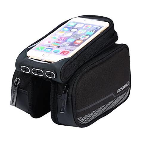 Roswheel Bike Waterproof Bag For 48 Inch Smartphone Black C201 Roswheel Waterproof Road Bicycle Smartphone Bag For Bike