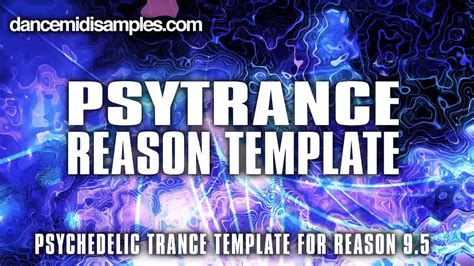 Reason 9 Templates psytrance template for reason 9 5 vol 1