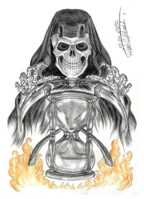 death tattoos designs grim reaper design by beckie1994