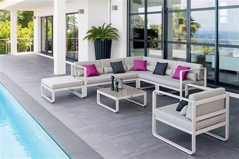 salon de jardin en aluminium 2392 salon de jardin aluminium hesperide mod 232 le absolu 224 prix mini