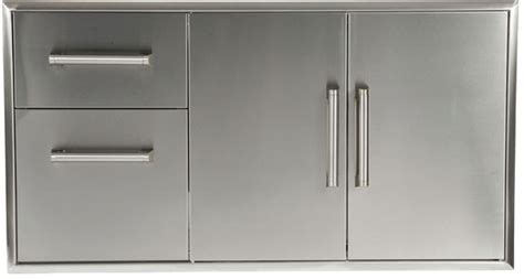 are outdoor stainless steel cabinets a good long term investment coyote ccd2dc 45 inch outdoor stainless steel two door