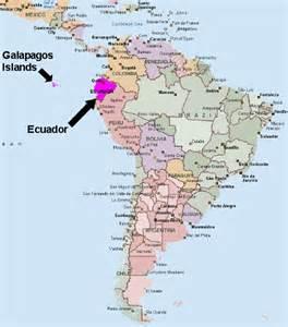 ecuador south america map ecuador and galapagos islands vacation december 4