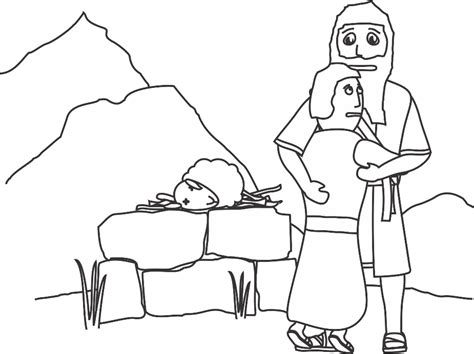 coloring pages for abraham called by god abraham and lot coloring pages bible the story of grig3 org
