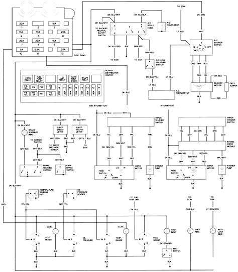 jeep wrangler tj wiring diagram wiring diagram with
