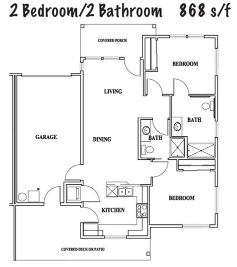 2 bedroom cottage floor plans 2 bedroom 2 bath cottage plans two bedroom cottage 2