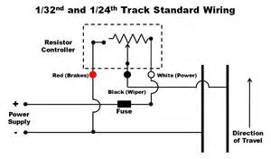 wiring a single positive polarity slot car track in track wiring forum