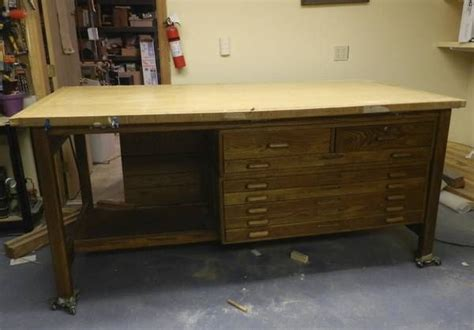 Used Drafting Table Craigslist Oh This Vintage Drafting Table With Storage Is 495 00 On Craigslist Craft Ideas