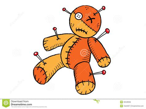 voodoo doll clipart voodoo doll royalty free stock photos image 36528698