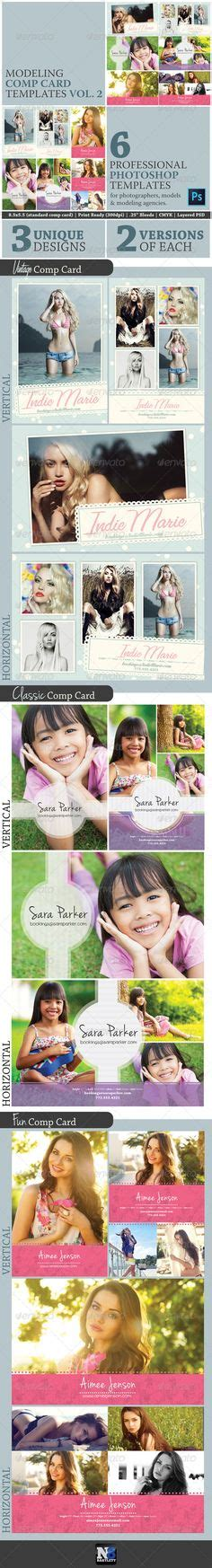 comp card design templates model comp and set card templates v2 card templates and