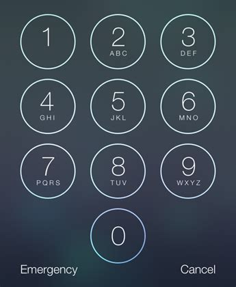 iphone passcode layout passcode lock the iphone faq