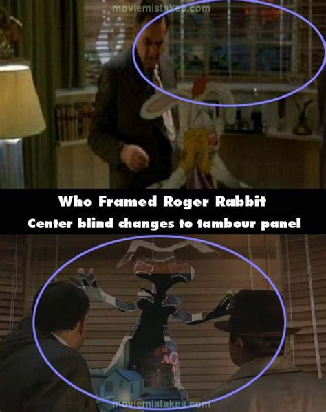 mikes appartment videos who framed roger rabbit 1988 movie mistake picture id
