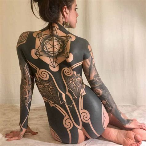 heavy blackwork tattoo best tattoo ideas gallery