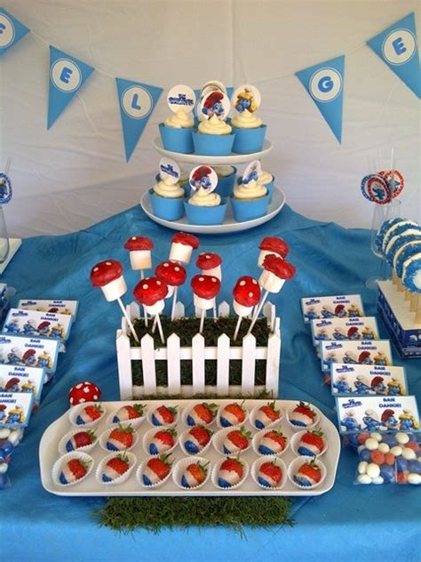 smurfs theme decorations 102 best images about smurf on goody
