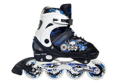 Power King Sepaturoda Inline Roda Karet Unggu Sepatu Roda 1 10 merk sepatu roda anak laki laki yang bagus berkualitas
