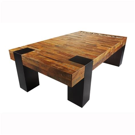 Wooden Coffee Table With Wonderful Design Seeur Cool Wooden Coffee Tables