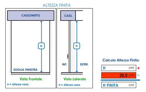 altezza porta finestra come prendere le misure delle tapparelle in pvc per