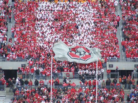 Ohio State Football Student Section traditions