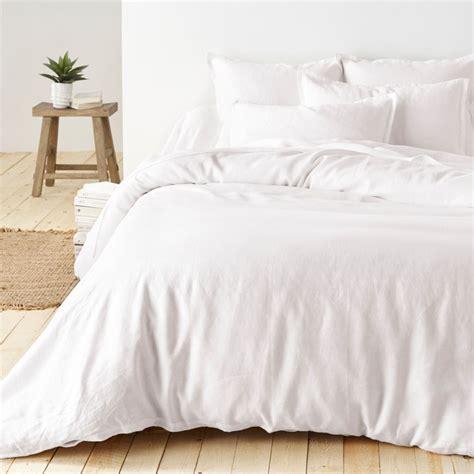 Bedcover Set Seprei Uk 200x200 100 pre washed linen duvet cover la redoute interieurs la redoute
