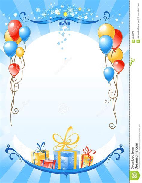 imagenes hd de cumpleaños para facebook fondo del feliz cumplea 241 os ilustraci 243 n del vector