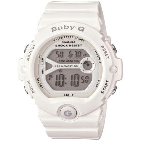 Casio Baby G Bg 6900 Pink g shock babyg womens digital runners white resin