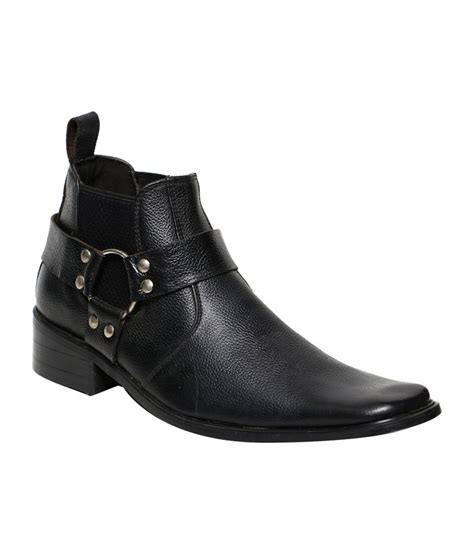 C Comfort by C Comfort Black Leather Boots For Buy C Comfort
