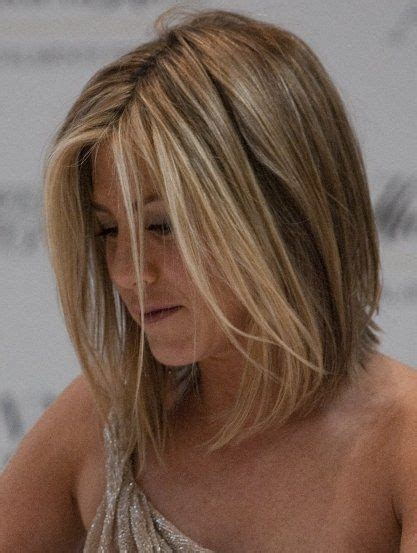 hairstyle for below the shoulder jennifer aniston haircut wife chop inspirations my