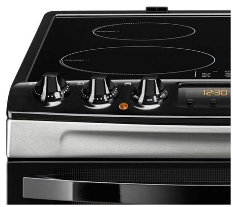 zanussi electric induction cooker buy zanussi zci68330xa electric induction cooker stainless steel free delivery currys