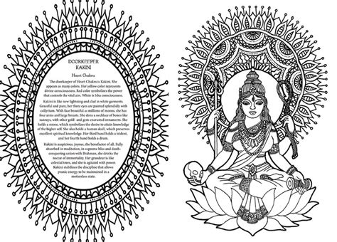 free coloring pages of chakras