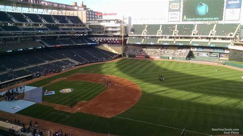 target section target field minneapolis tickets schedule seating