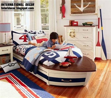 toddler nautical room children room design in marine style and theme
