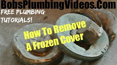 Sewer Cleanout Plug / How To Remove A Sewer Plug   YouTube