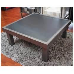 tables basses de salon design b 233 ton acier bois mathi